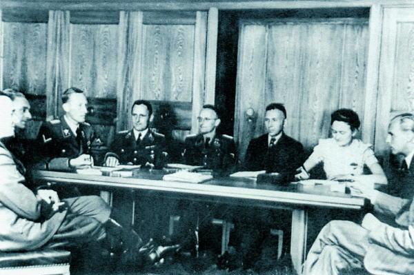 「ヴァンゼー会議」の画像検索結果